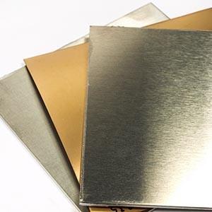 Leitfähigkeit beschichtete Metallplatten